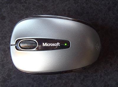 Microsoft Wireless Mobile Mouse 3500 バッテリーインジケーター
