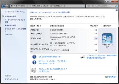 エクスペリエンスインデックス|ThinkPad T520 4239-RL7