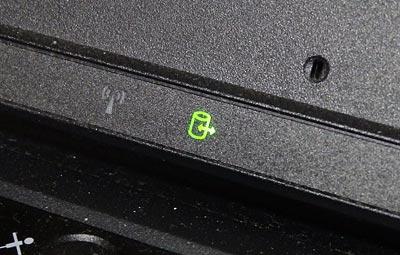 ThinkPad T520 ドライブアクセスランプ