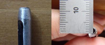 Amazonの格安ドットボタン(アメリカンホック)用ポンチ