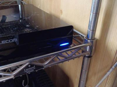 ELD-XED020UBKのアクセスランプ