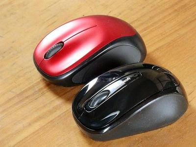 Microsoft Wireless Mobile Mouse 3500とロジクール ワイヤレスマウスM235r