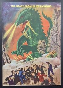水爆実験が原因で 復活した怪獣が 暴れるという ストーリー。 ゴジラと... 【海星堂】名古屋の