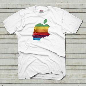 アップル スカル レインボー