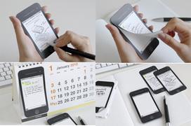 iphoneデザインの付箋紙