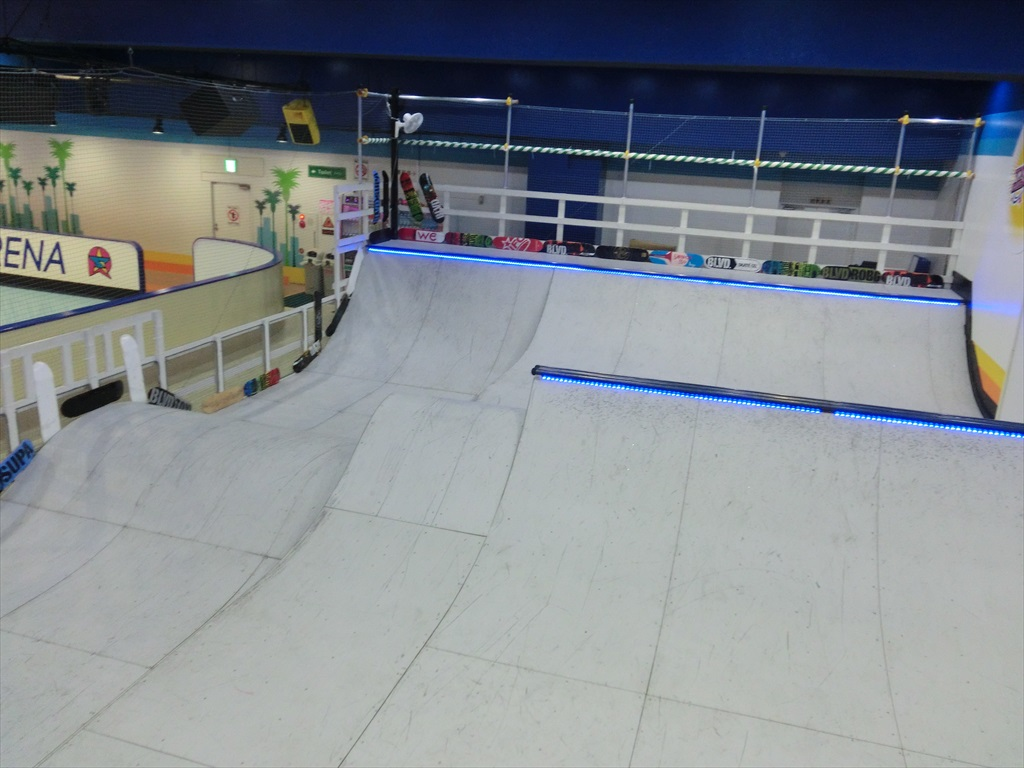 文京区 東京ドーム ローラースケートアリーナ|スケートパーク写真