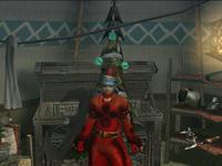 赤服のサンタさん
