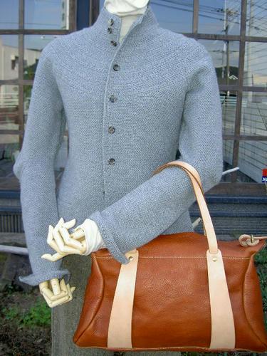 StyleCraftのボストン、こうゆう表現のバッグはこのブランドでしか作れないだろうなぁ。