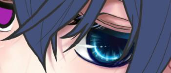 ぼっさまの瞳