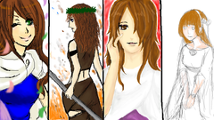 絵チャログ 神話を生きた女たち