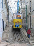 リスボンのケーブルカー1
