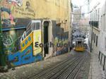 リスボンのケーブルカー4