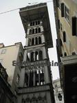 リスボン(Lisbon)のサンタ・ジュスタのリフト (Elevador de Santa Justa)
