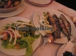 カスカイス(Cascais)で食べたイワシのグリル