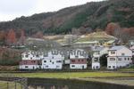 能勢(くりの郷)から見える大阪府民牧場