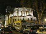 夜のニース(Nice)の街並み