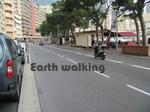 モンテカルロ市街地コースのスタート&ゴール地点付近