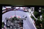 F1モナコGPのグランドホテル・ヘアピン (Grand Hotel Hairpin)(旧ローズヘアピン)の中継画像