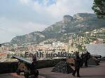 モナコ(Monaco)の大公宮殿からの景色