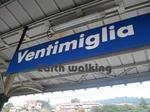 フランスとイタリアの国境付近のVentimigria駅