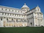 ドゥオモ広場(Piazza del Duomo)の大聖堂の側面