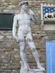 ヴェッキオ宮殿(Palazzo Vecchio)前のダビデ像