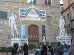 ヴェッキオ宮殿(Palazzo Vecchio)前の広場