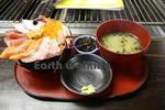 東尋坊で食べた海鮮丼