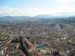 サンタ・マリア・デル・フィオーレ大聖堂(Cattedrale di Santa Maria del Fiore)のてっぺんからのフィレンツェ(Firenze、Florence)の街並み
