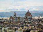 ミケランジェロ広場(Piazzale Michelangelo)から望むサンタ・マリア・デル・フィオーレ大聖堂(Cattedrale di Santa Maria del Fiore)