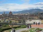 ミケランジェロ広場(Piazzale Michelangelo)からのフィレンツェ(Firenze、Florence)の街並み