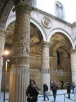 ヴェッキオ宮殿(Palazzo Vecchio)のエントランス