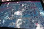 道の駅『しんあさひ風車村』の施設図