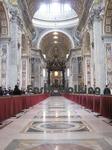 サン・ピエトロ大聖堂(St. Peter's Basilica)の身廊(The Nave)