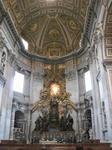サン・ピエトロ大聖堂(St. Peter's Basilica)の『聖ペテロの司教座(Chair of Saint Peter)』ジャン・ロレンツォ・ベルニーニ作