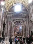 サン・ピエトロ大聖堂(St. Peter's Basilica)の『聖セバスティアヌスの殉教』(ドメニキーノ)