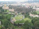 サン・ピエトロ大聖堂(St. Peter's Basilica)からの眺め