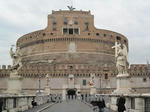 サンタンジェロ城(Castel Sant'Angelo、Castle of the Holy Angel)