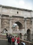 セプティミウス・セウェルスの凱旋門(Arcus Septimii Severi、Arch of Septimius Severus)