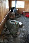 レインボーライン山頂公園の休憩室