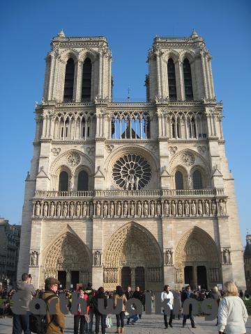 ノートルダム大聖堂(Cathédrale Notre-Dame de Paris)