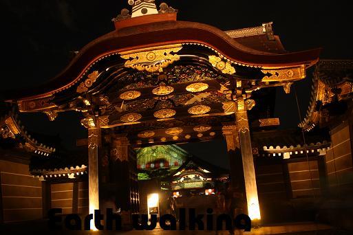京の七夕 二条城の唐門