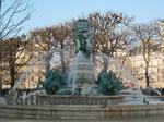 パリのリュクサンブール公園(Jardin du Luxembourg、Luxembourg Garden)
