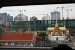 バンコクの電車から景色