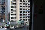 バンコクの電車から景色「ホテルヨーロノパイン?」