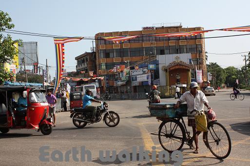 ニゴンボ(Negombo)の街並み