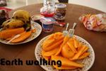 マンゴーで朝食