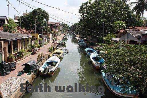 ニゴンボ(Negombo)ハミルトン運河