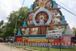スリランカの祭の装飾