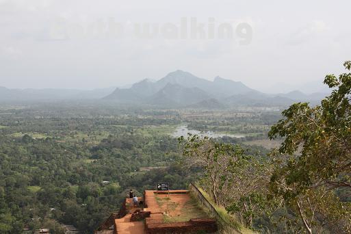 シーギリヤロック(Ancient City of Sigiriya)からの景色